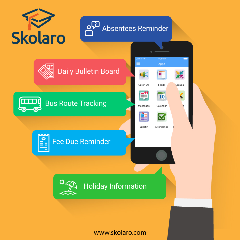 Skolaro Mobile App for School: Great for Teachers, Easy for Parents