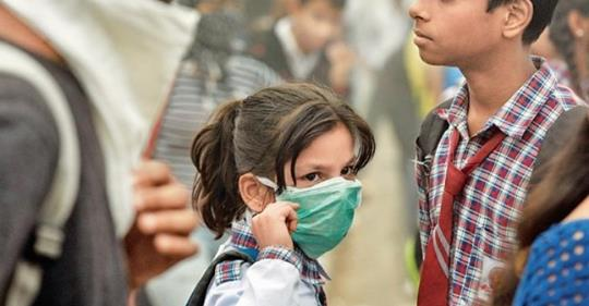 Schools Take Drastic Steps for Children to Combat Air Pollution