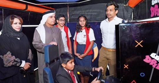 A Classroom on Wheels for Bus Safety in Dubai