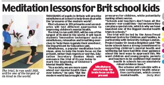 Meditation Lessons for British School Kids