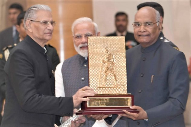 "India Honors ""Ekal Vidyalaya Foundation"" with Gandhi Peace Prize"