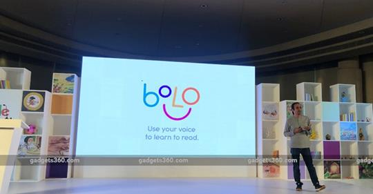Google Bolo Reading-Tutor App Launched in India