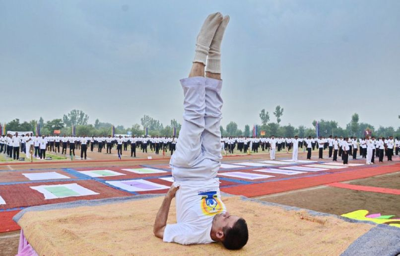 Make yoga part of school curriculum, says Vice President