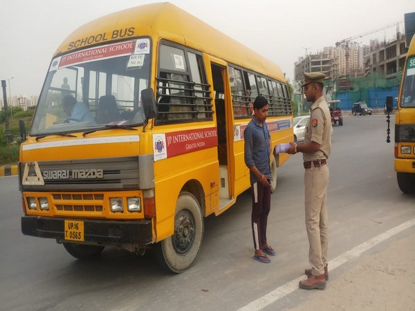 Operation Clean: 427 school buses fined by Noida Police