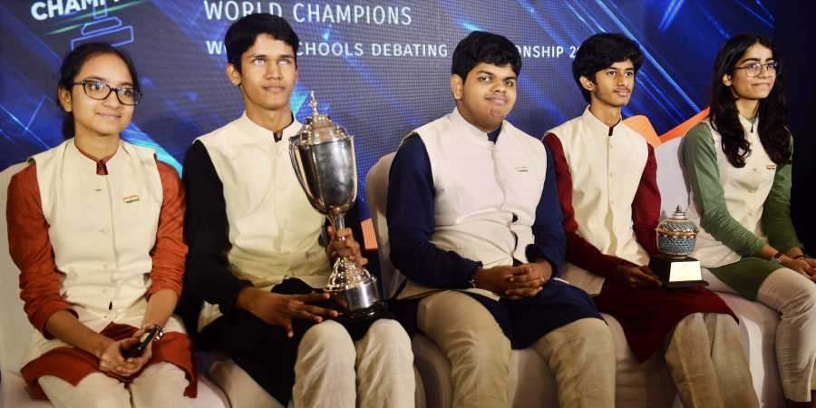 India wins world school debating championships for the first time