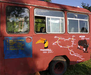 A school in Arunachal Pradesh that has been set up on a bus