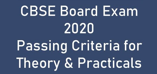 CBSE Board Exam 2020 Pass Marks for Class 10th & Class 12th students