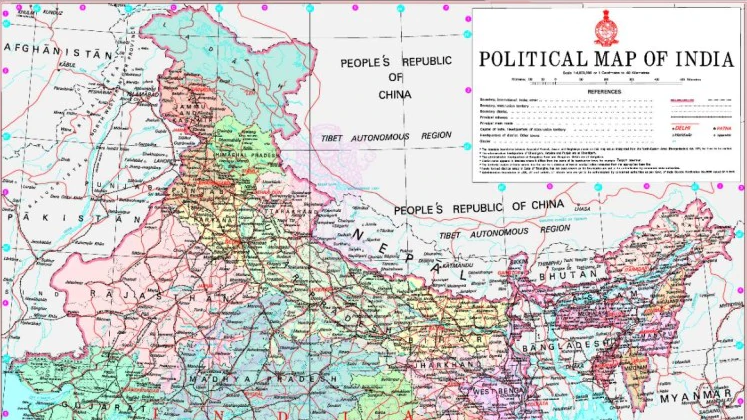 CBSE asks schools to use new political map of India