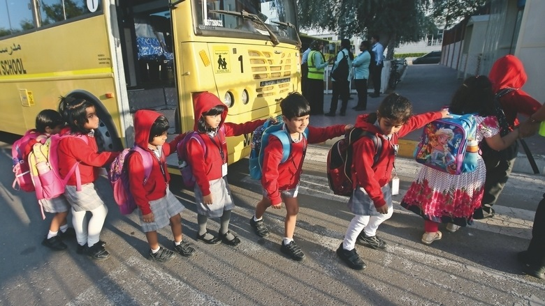 UAE school routine is back after the winter break