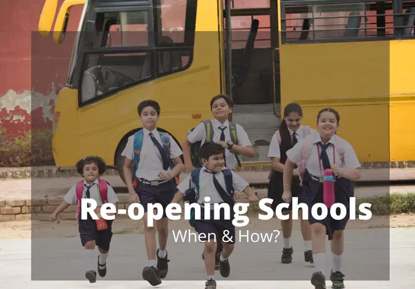 School Reopening Date under Unlock 4.0 | To reopen after Sept. 21 for teachers & non teaching staffs