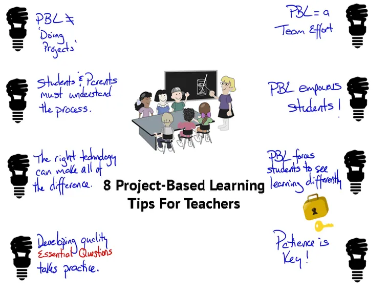 8 Project-Based Learning Tips For Teachers
