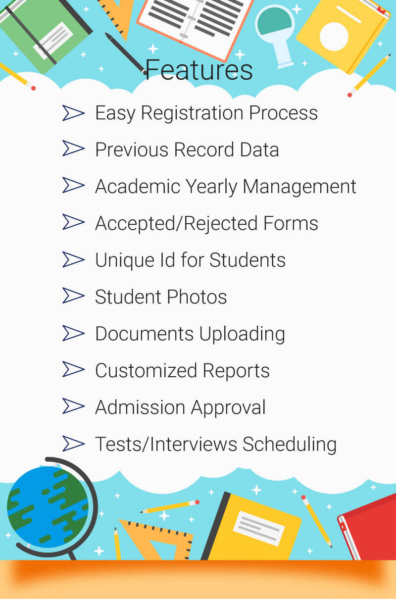 Admissions-features